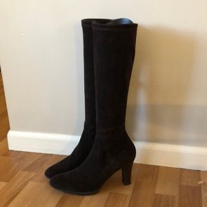 Aquatalia Rhumba boots - Chocolate Brown